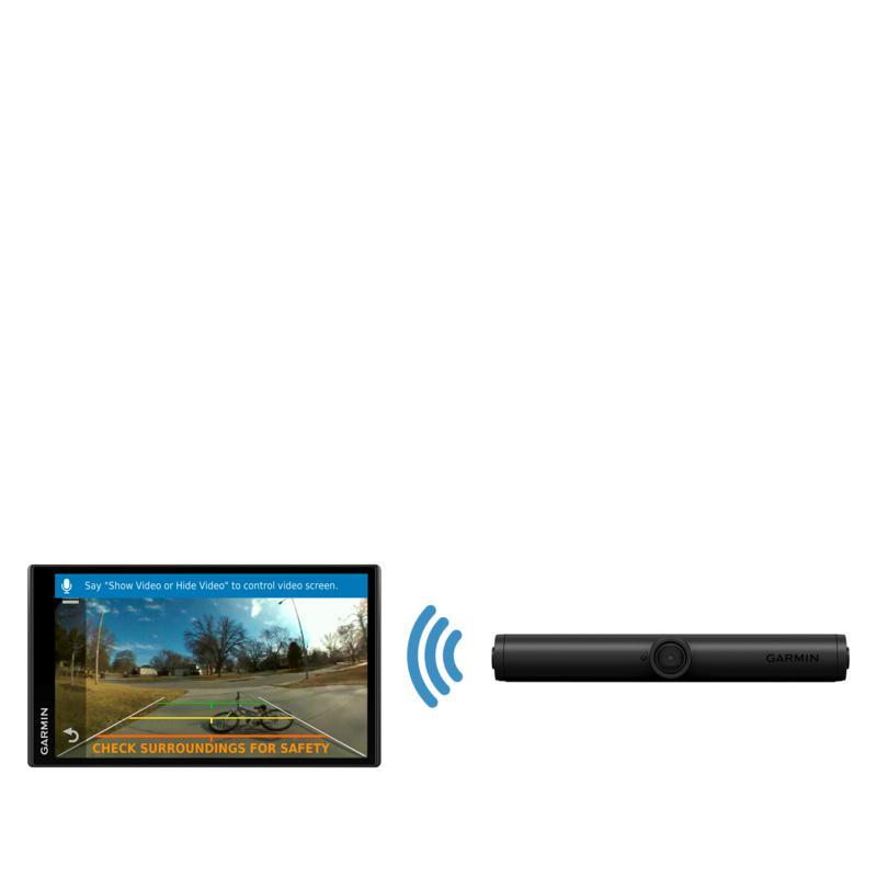 "Garmin 5.5"" DriveSmart 55 GPS with WiFi & Wireless Backup Camera"