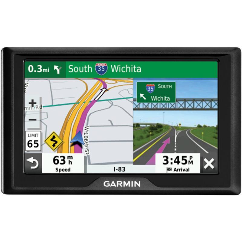 Garmin Drive 52 GPS Navigator w/Driver Alerts