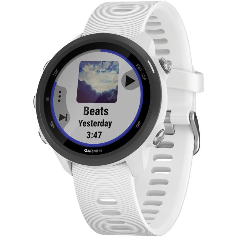 Garmin Forerunner 245 Music Running Watch in White