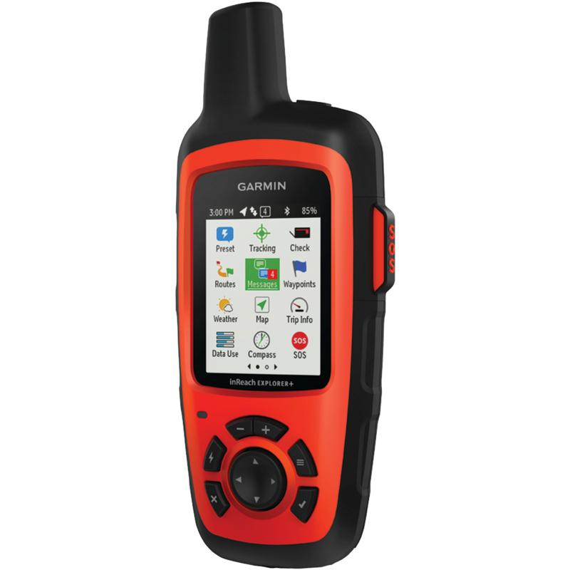 Garmin inReach Explorer®+ Satellite Communicator with Maps and Sensors