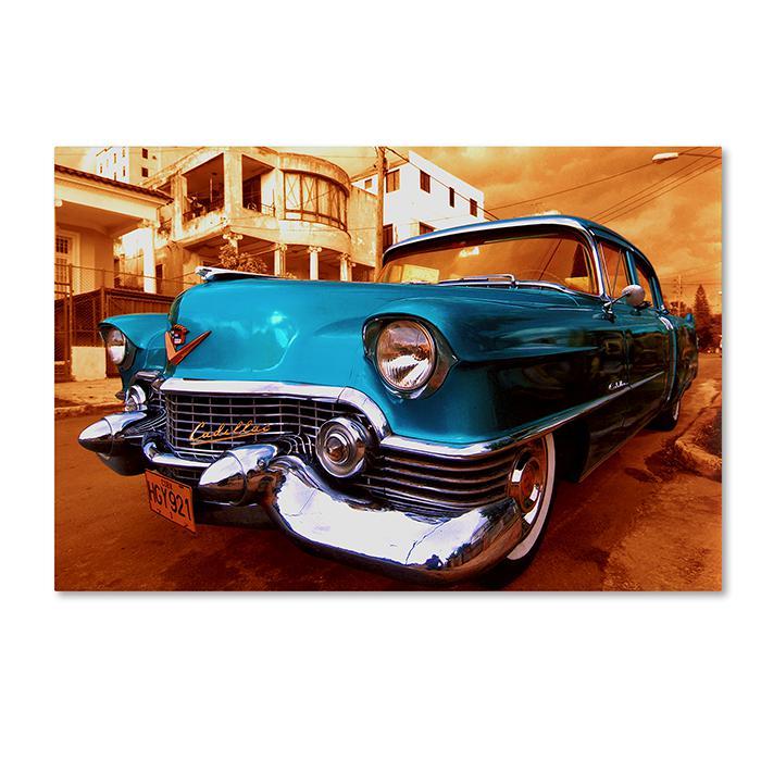 Giclee Print - 1955 Cadilac Coupe de Ville Sedan