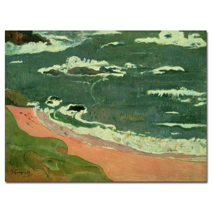 """Giclee Print - Beach at Le Pouldu 47"""" x 35"""""""