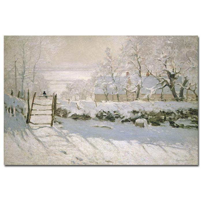 Giclee Print - The Magpie 1869