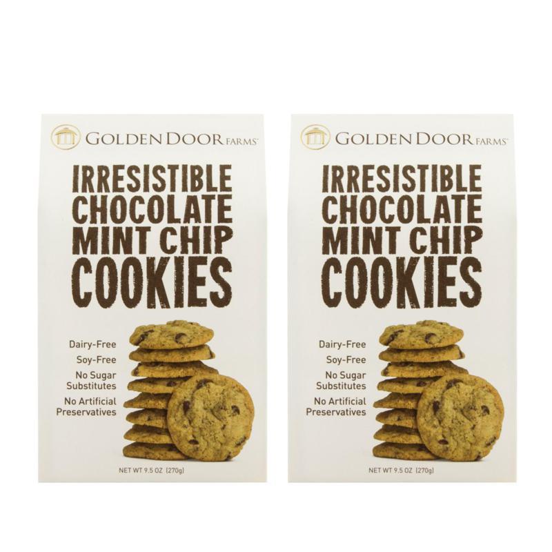Golden Door Irresistible Cookies 2pk - Chocolate Mint