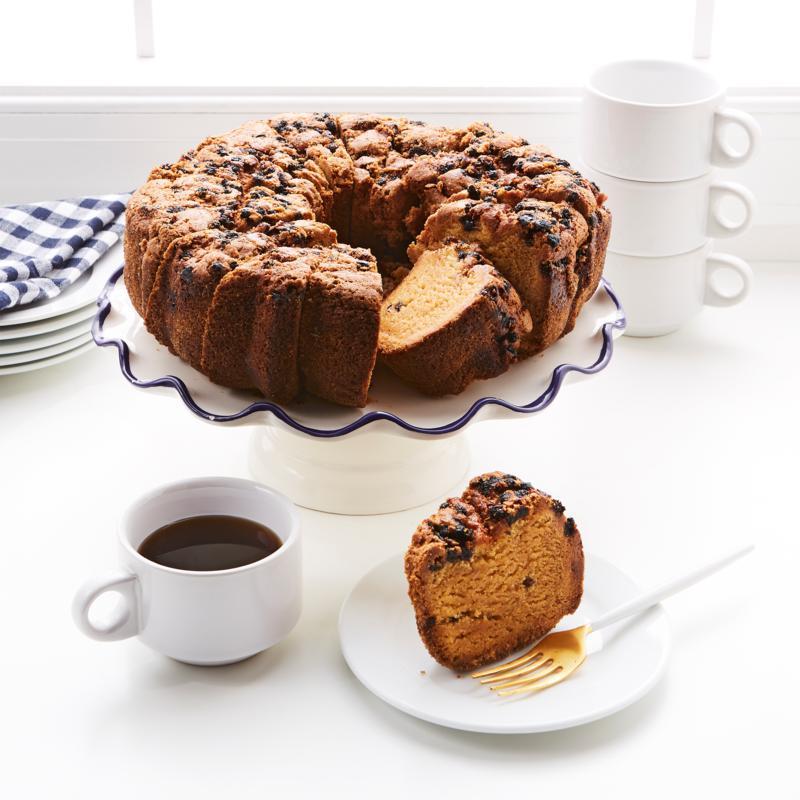 GrandPa's Cake Company 48 oz. Pre-Sliced Wild Blueberry Cake