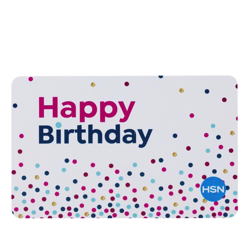Happy Birthday $25.00 HSN Gift Card