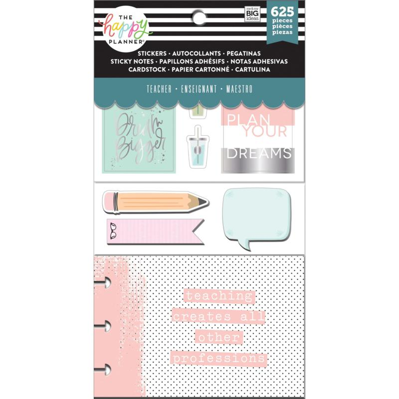 Happy Planner Note Cards/Sticky Note Multi Pack - Simply Teach