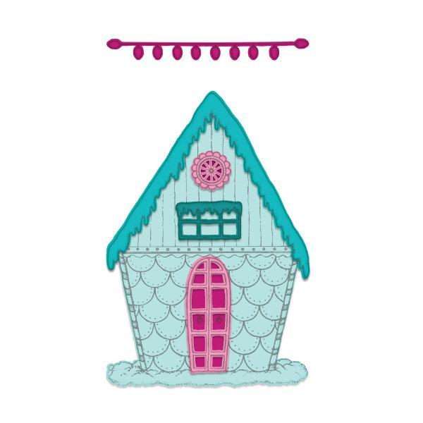 Heartfelt Creations Candy Cane Cottage Die