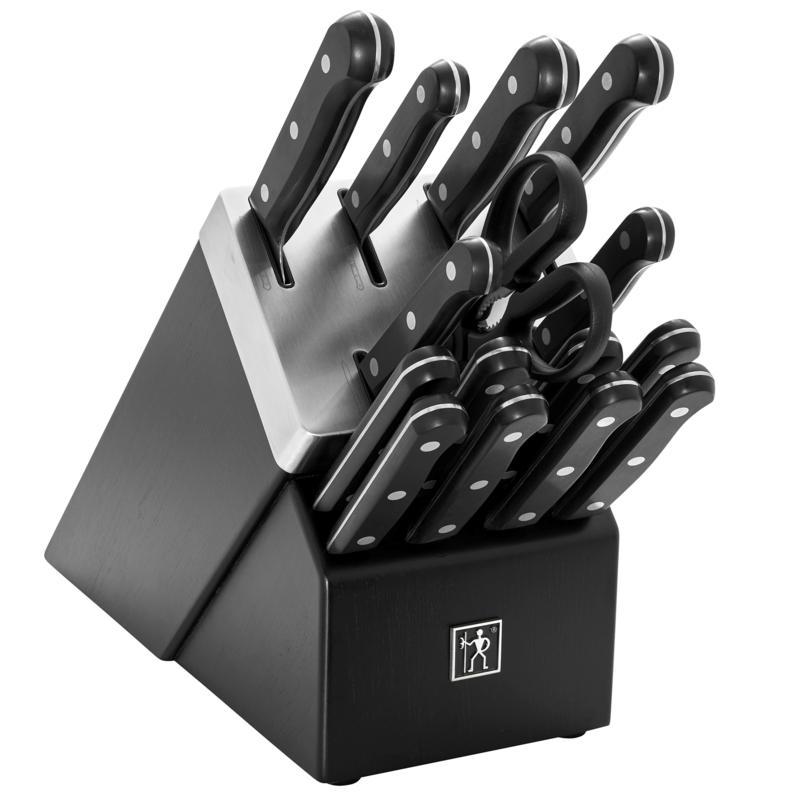 Henckels Solution 16-piece Self-Sharpening Knife Block Set