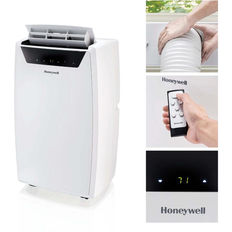 Honeywell 14000BTU Portable Air Conditioner/Dehumidifier/Fan - White