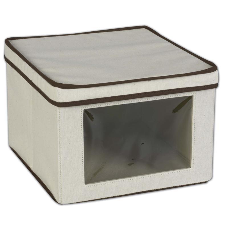 Household Essentials Vision Storage Box - Medium