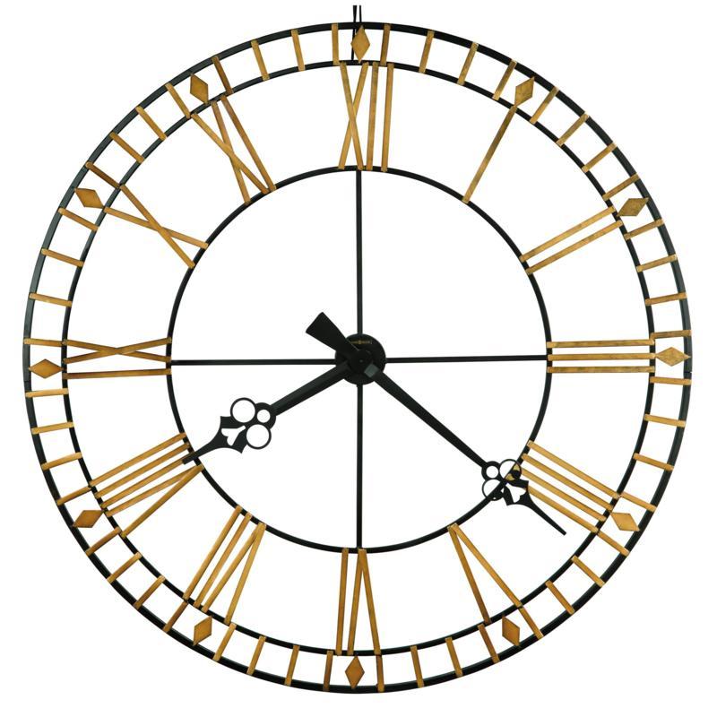 "Howard Miller ""Avante"" Classic Wrought Iron Wall Clock"