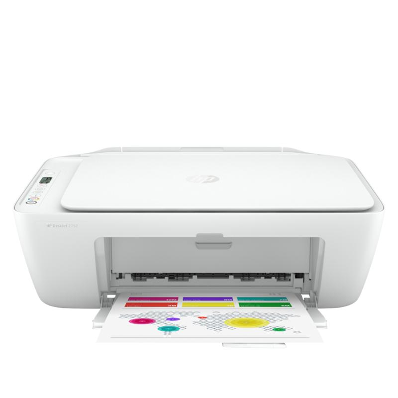 HP DeskJet 2752 All-In-One Printer with 8 Months Instant Ink