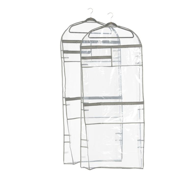 Huggable Hanger Set of 2 XL Garment Bag with Hangers
