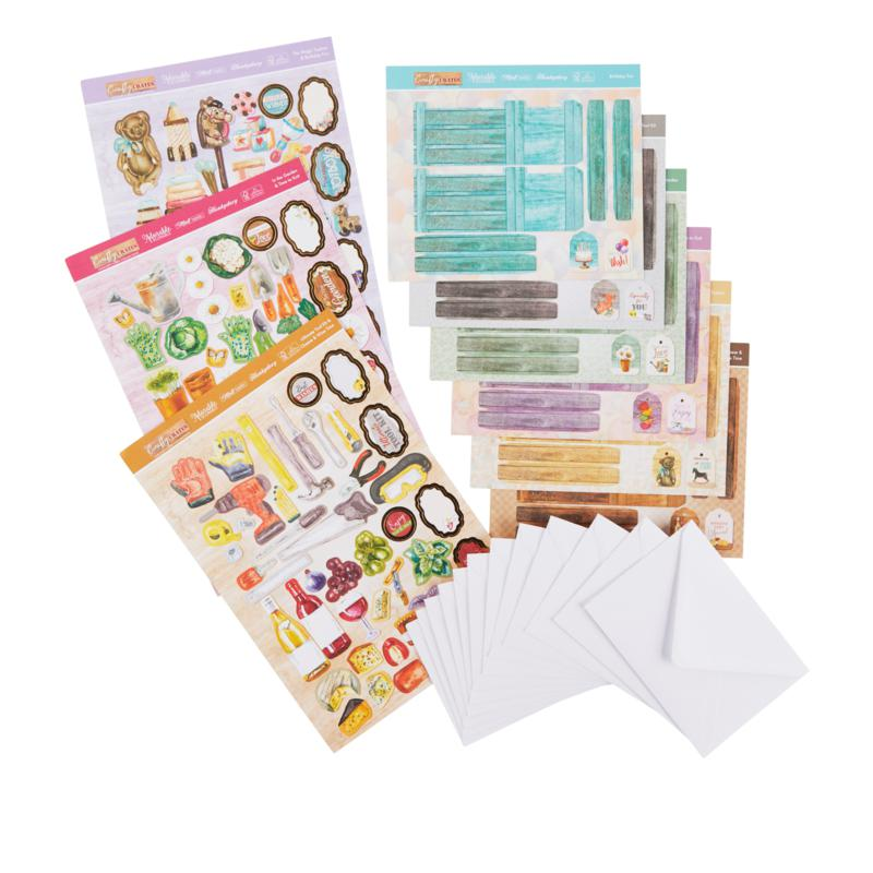 Hunkydory Crafty Crates Concept Card Collection