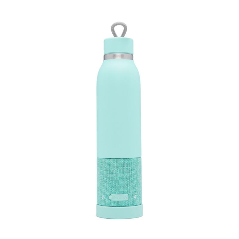 iHome Aquio Hydration Bottle w/Bluetooth Wireless Speaker - Teal