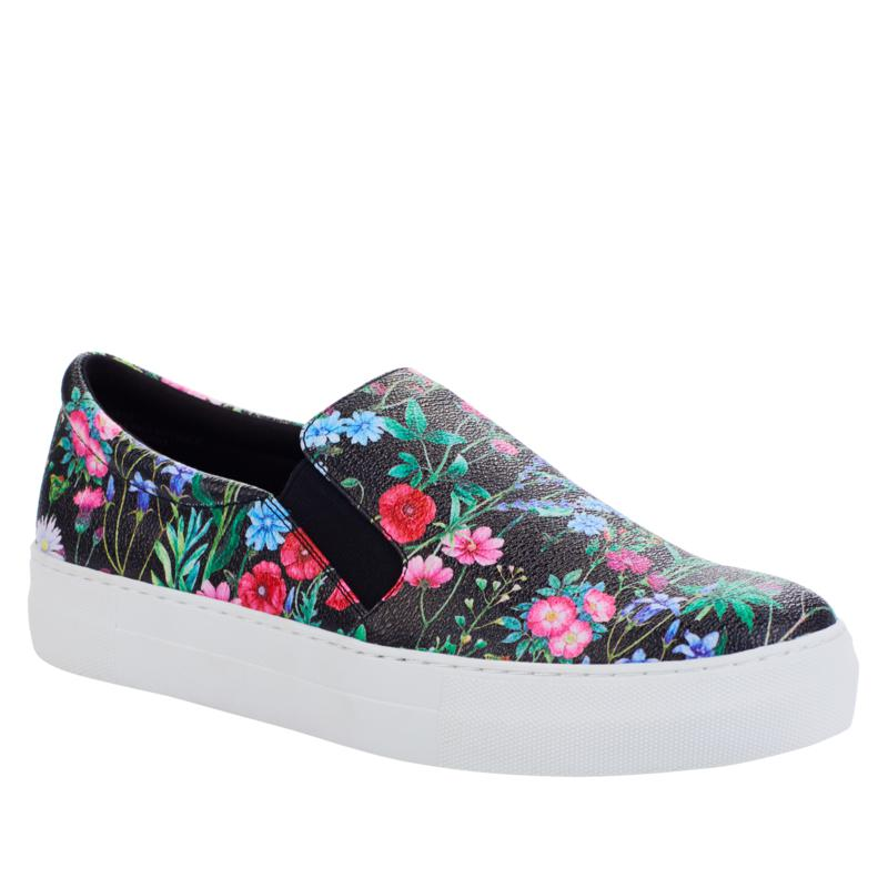 IMAN Global Chic Floral Print Slip-On Sneaker