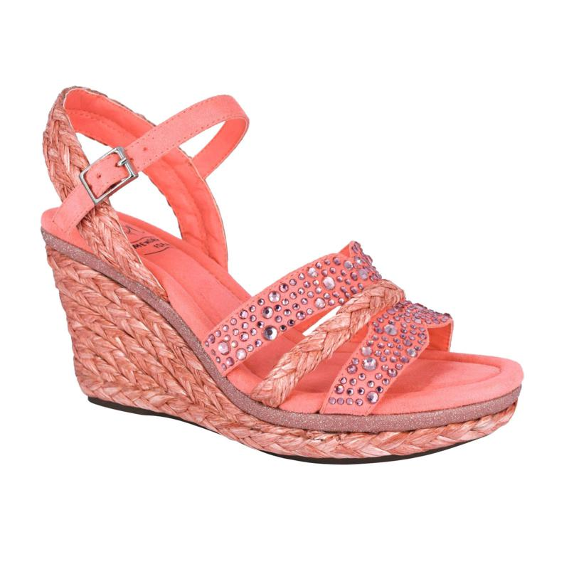 Impo Ossie Platform Wedge Sandal with Memory Foam