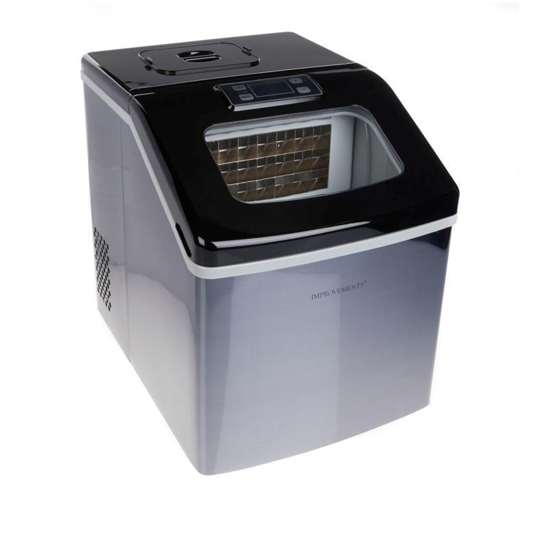Improvements 40 lb. Square Ice Maker w/Self-Clean Transparent Window