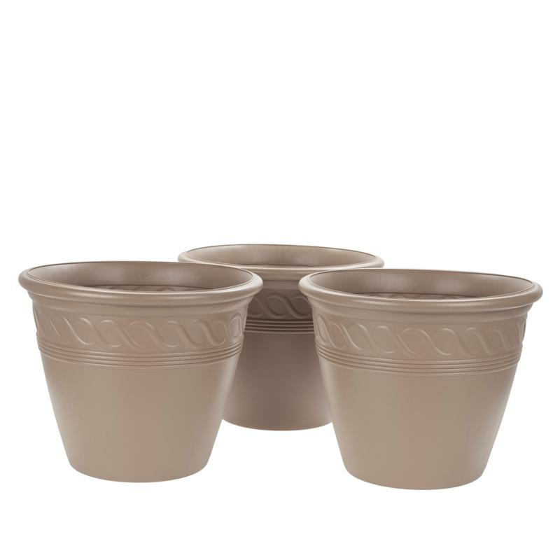 Improvements Set of 3 Tapered Planters