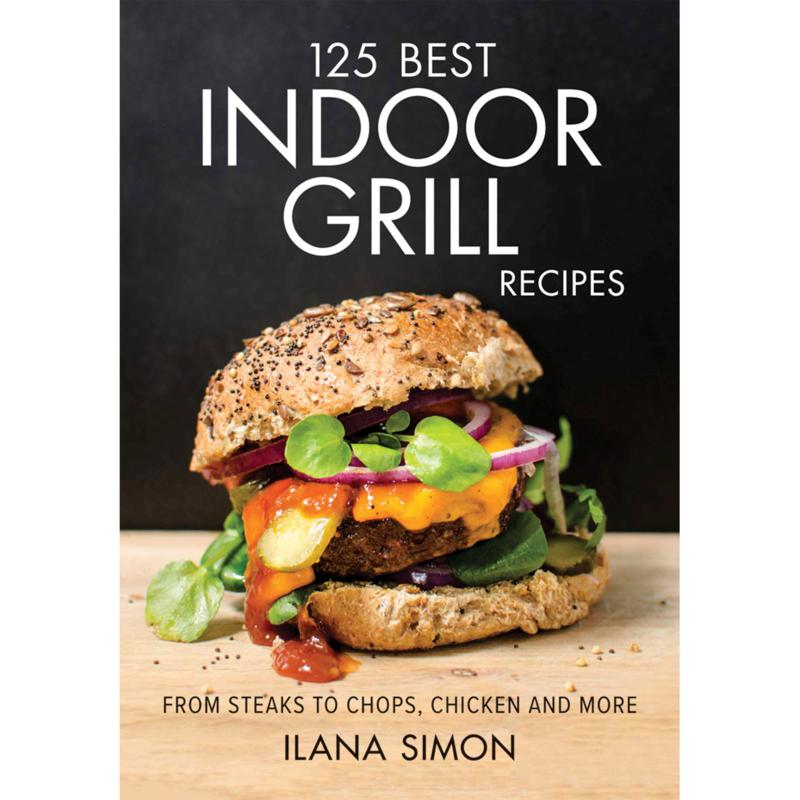 Indoor Grill Cookbook with 125 Recipes