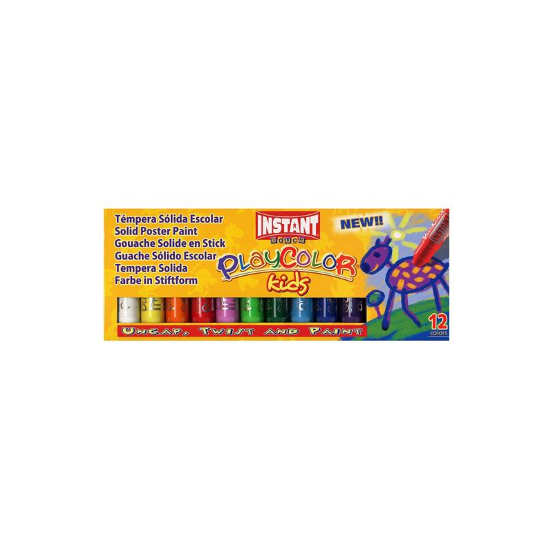 Instant Educa Playcolor Paint Sticks 12-pack - Standard