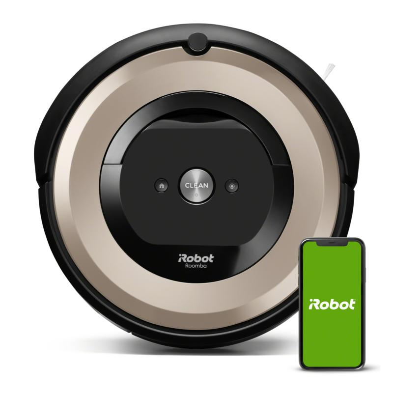 iRobot Roomba e6 WiFi Vacuum with 2 Dual Mode Virtual Walls