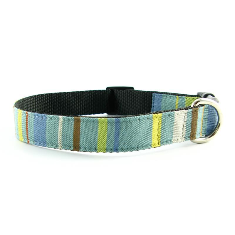 Isabella Cane Abbington Dog Collar - Sky Large