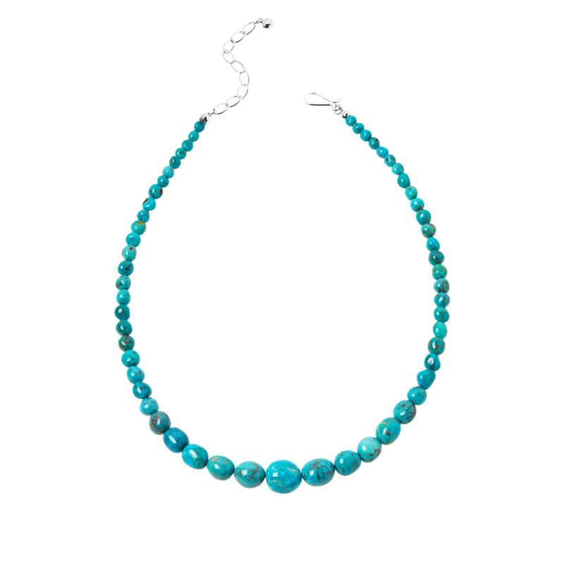 Jay King Multi-Color Golden Dragon Mountain Turquoise Nugget Necklace