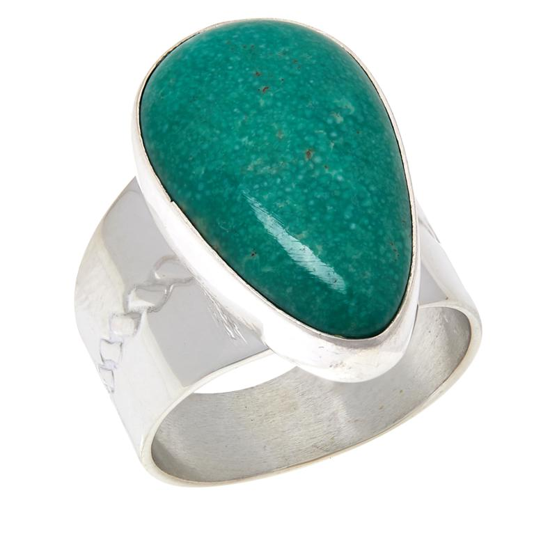 Jay King Sterling Silver Alicia Turquoise Pear-Shaped Ring