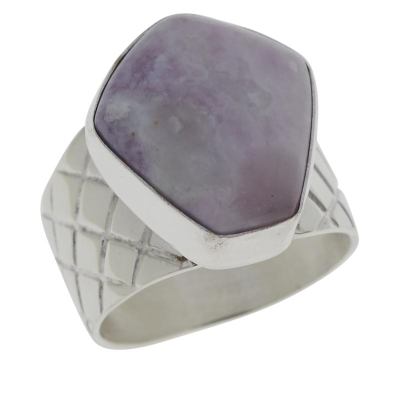Jay King Sterling Silver Jalisco Lavender Opal Ring
