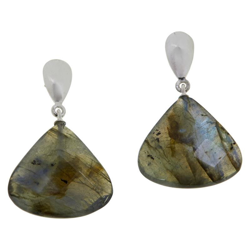 Jay King Sterling Silver Labradorite Drop Earrings