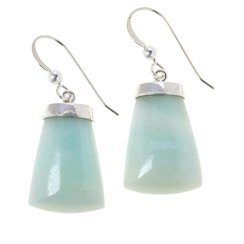 Jay King Sterling Silver Morning Mist Quartzite Drop Earrings