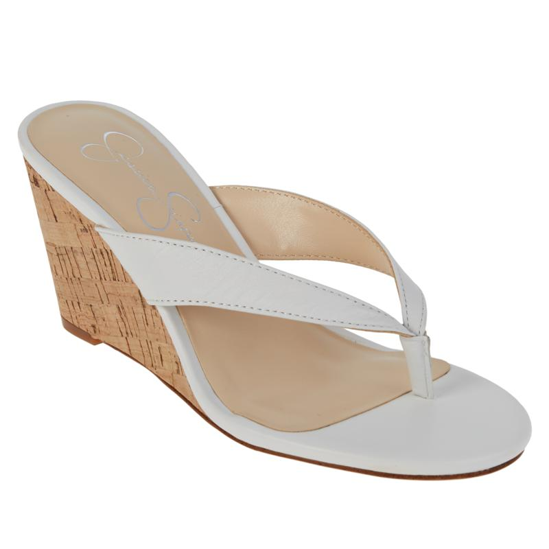 Jessica Simpson Coyrie Thong Wedge Sandal