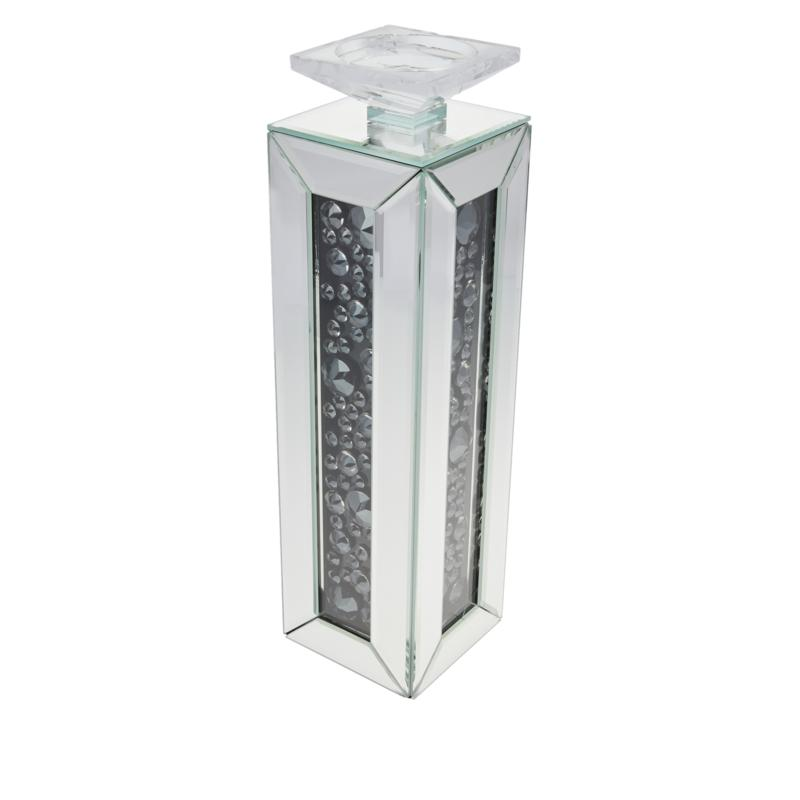 JM by Julien Macdonald Two-Toned Mirrored Candle Holder