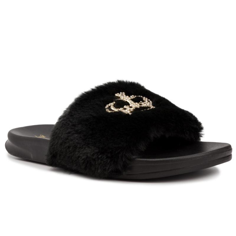 Juicy Couture Windy Faux Fur Sandal Slide