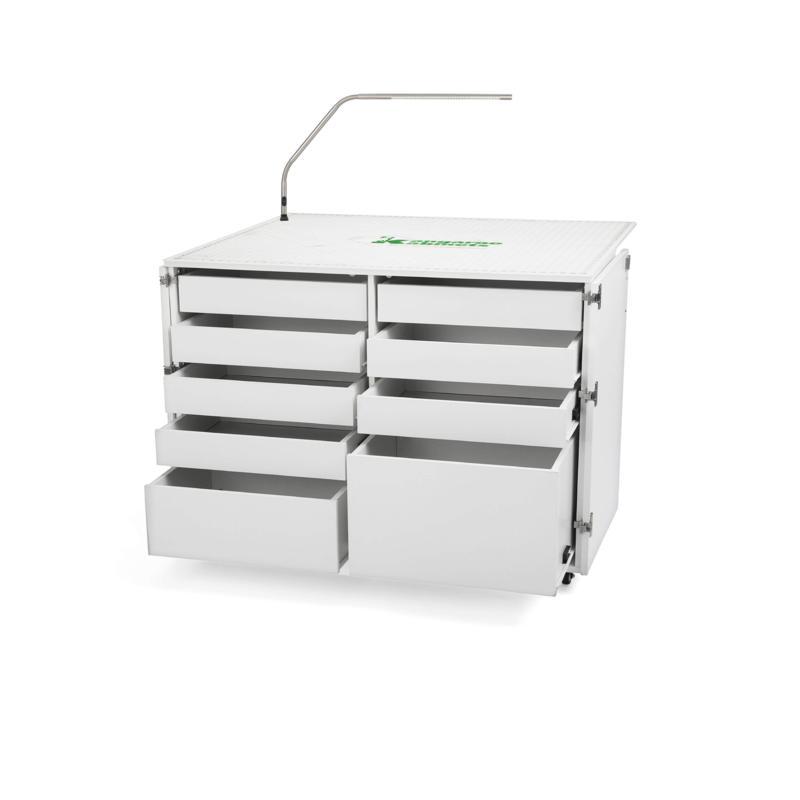 Kangaroo Dingo II 9-Drawer Storage Cabinet w/ Bonus Slimline 3 Lamp
