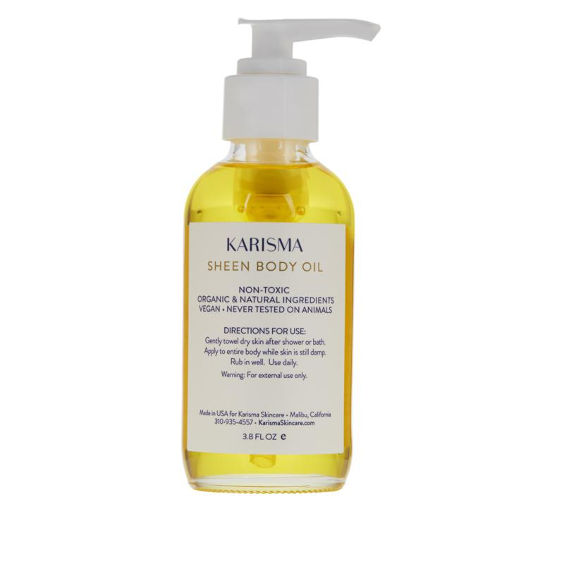Karisma Skincare Sheen Body Oil Deeply Hydrating Body Oil