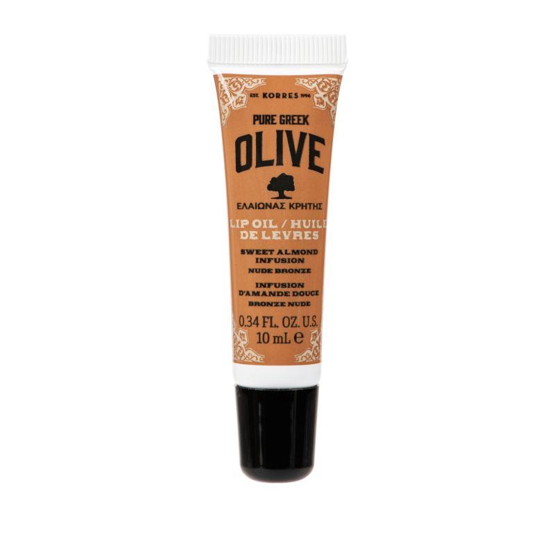 Korres Olive Sweet Almond Oil Nude Bronze Lip Oil