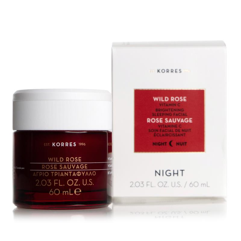 Korres Wild Rose Jumbo Vitamin C Brightening Sleeping Facial