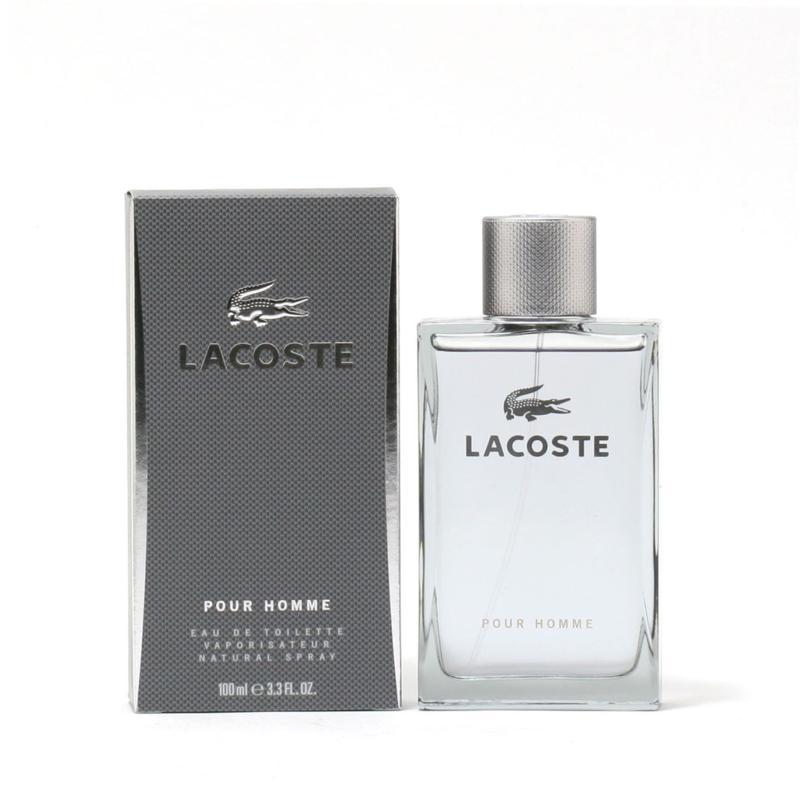 Lacoste Pour Homme  EDT Spray - 3.3 fl. oz.