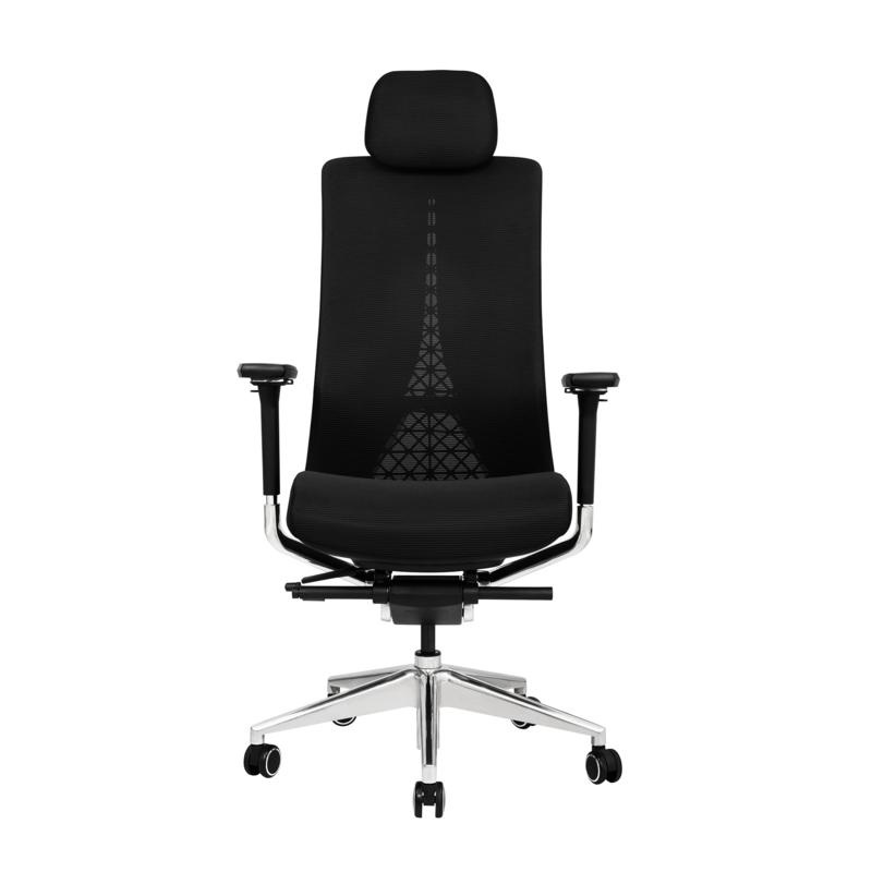 "Lanbo Ergonomic Office Chair with Adjustable Headrest, 28.3x23.2x52.4"""