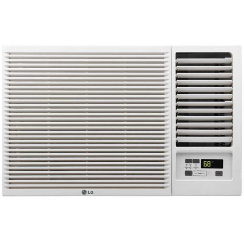 LG 7,500 BTU Window-Mount Air Conditioner with Remote