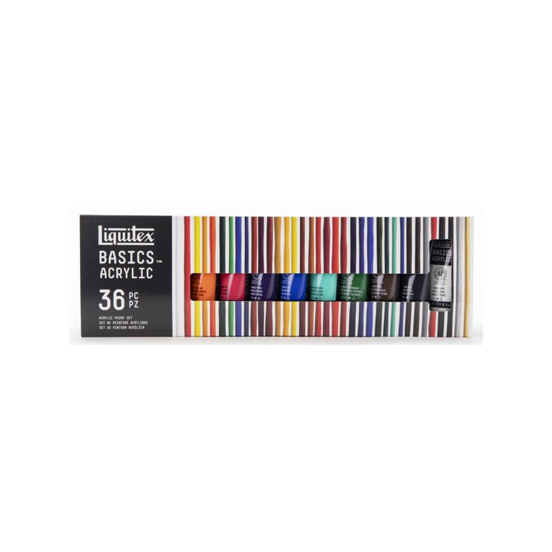 Liquitex Basics Value Series Acrylic Colors set of 36