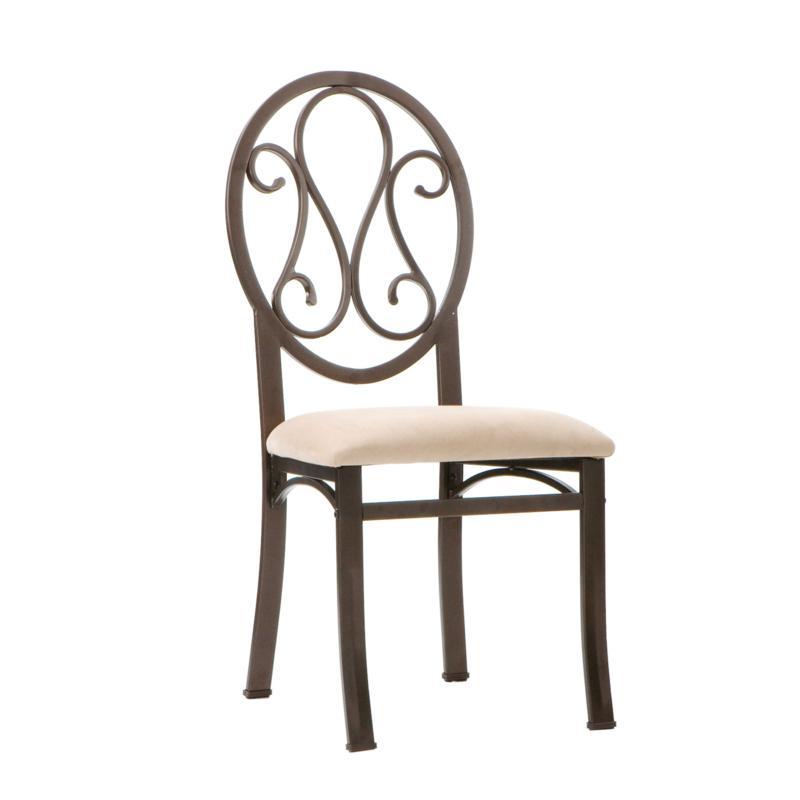 Lucianna 4-piece Decorative Chair Set - Dark Brown