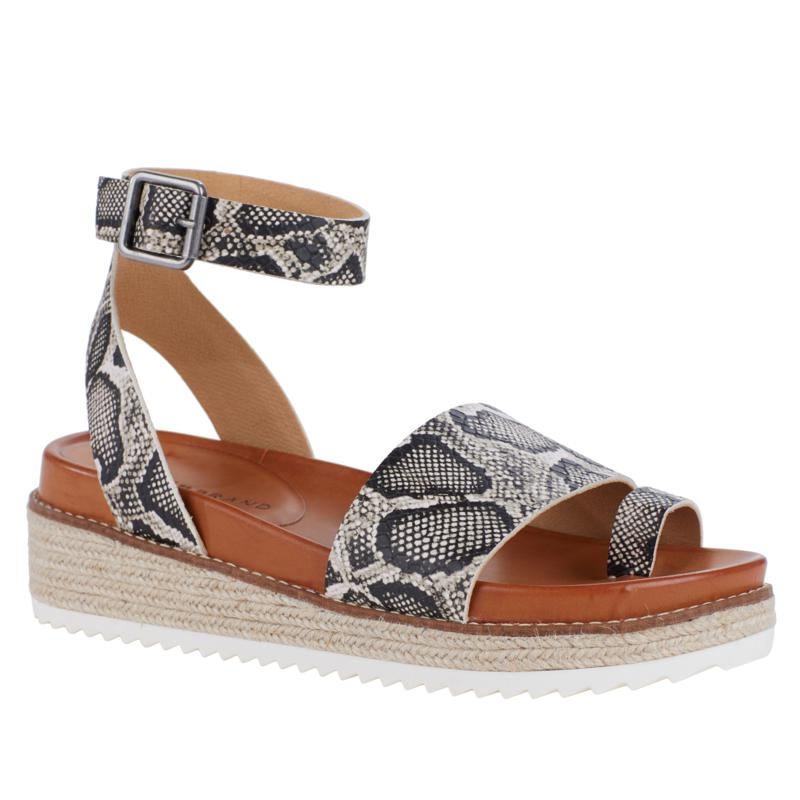 Lucky Brand Itolva Leather Espadrille Toe Loop Sandal