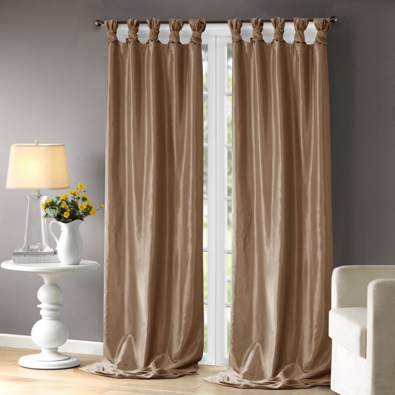 """Madison Park Emilia Curtain - Bronze - 50"""" x 108"""""""