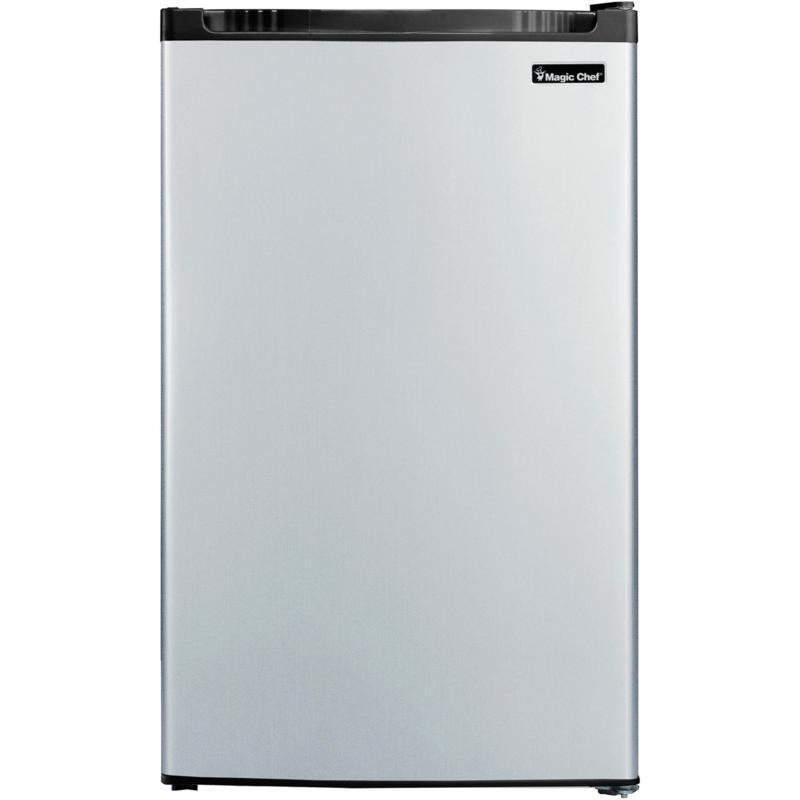 Magic Chef 4.4-Cu. Ft. Refrigerator w/Full-Width Freezer Compartment