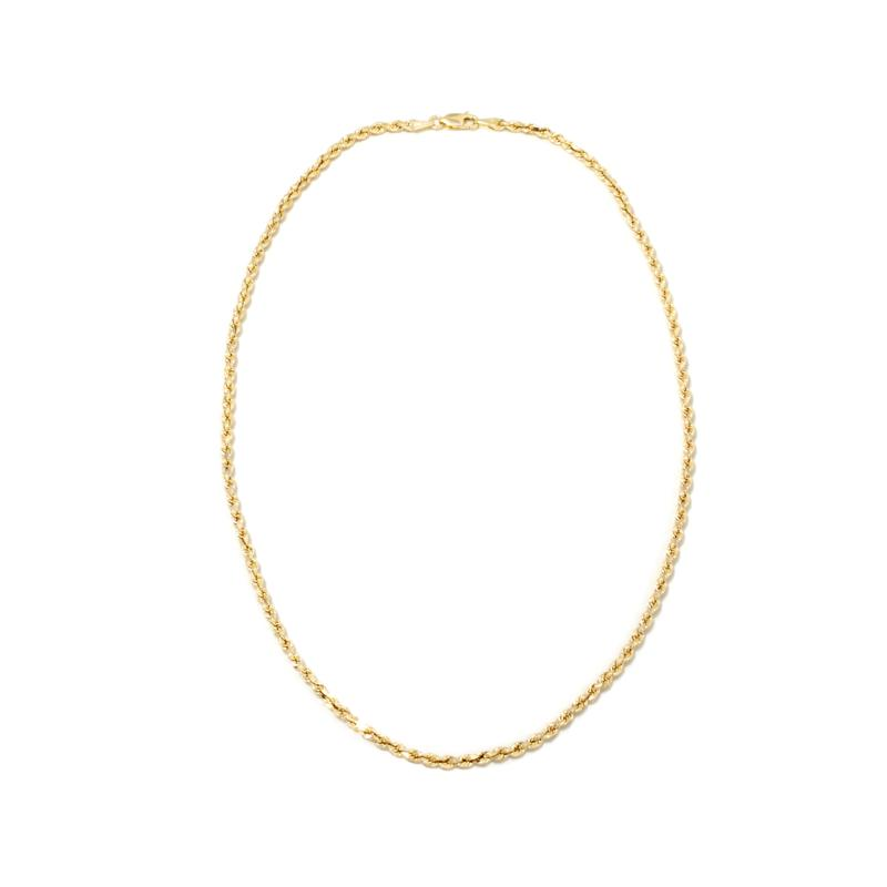 """Michael Anthony Jewelry® 10K 18"""" Ultimate Rope Chain"""