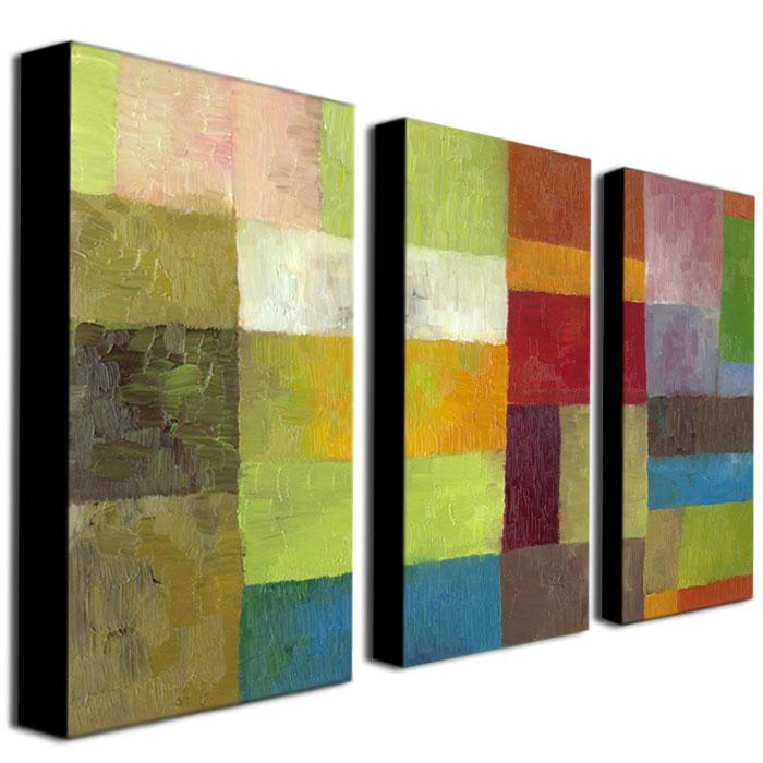 "Michelle Calkins ""Abstract Color Panels IV"" Prints"